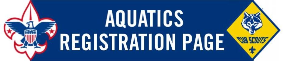Aquatics Registration Page Picture